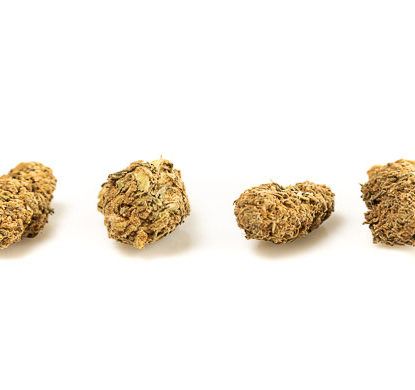 Cogollos de White Widow Cannabis CBD