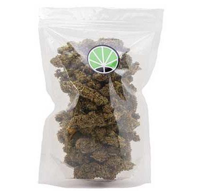 paquete de cogollos White Widow variedad de Cannabis CBD