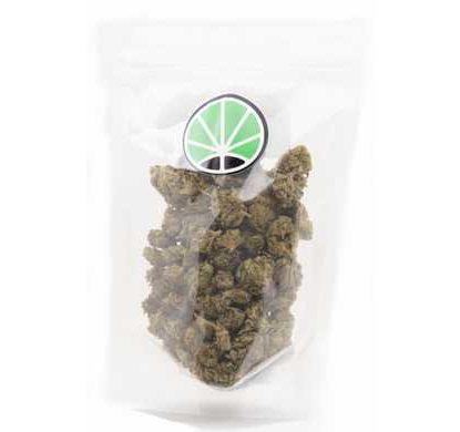 Paquete de cogollos Melon Kush cannabis legal Cbd Espana