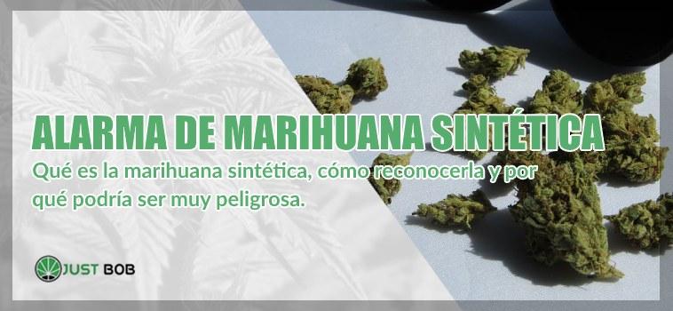 Marihuana sintetica : reconocer y tener cuidado