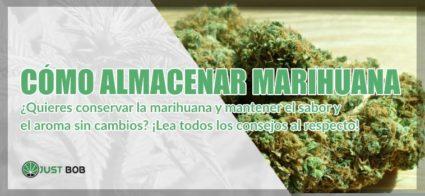 Cómo almacenar marihuana sin cambios de aroma