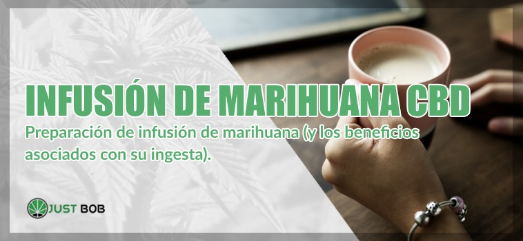 Infusión de marihuana light