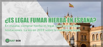 fumar hierba legal en España 2019 cbd