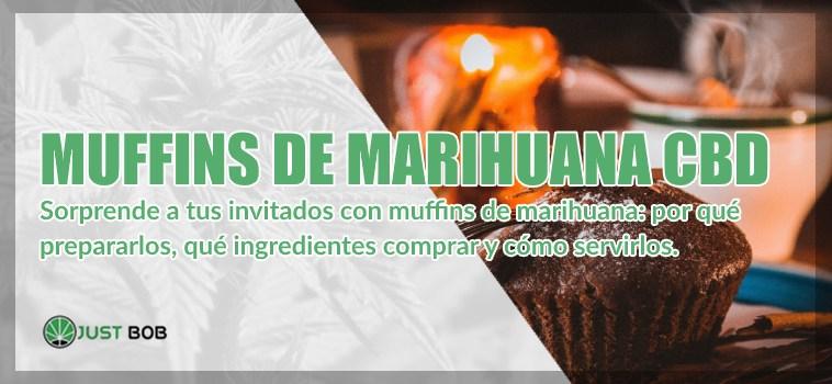 Muffins de marihuana legal