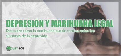Depresión y marihuana legal