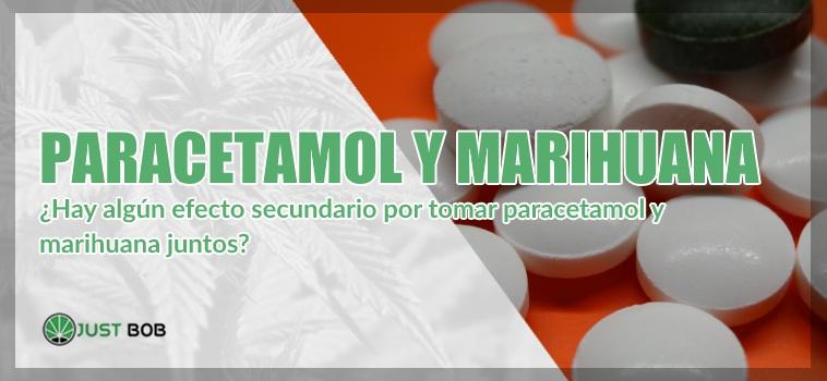 Paracetamol y cannabis ligero
