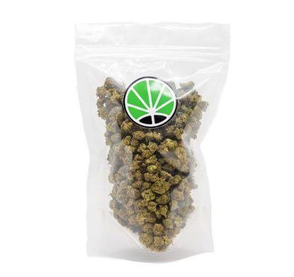 Paquete de cogollos Bubblegum cannabis legal Cbd Espana