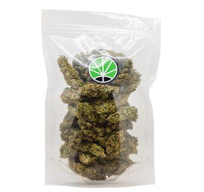 Paquete de Cogollos variedad Bubblegum Cannabis CBD