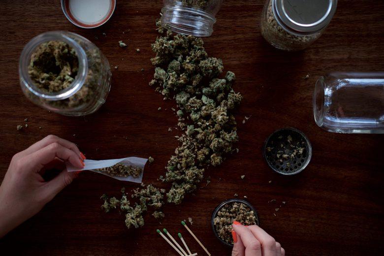 fumar de forma pasiva marihuana CBD