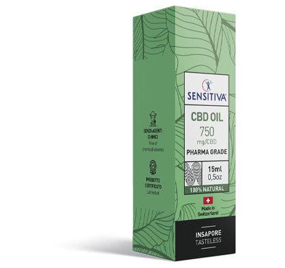Paquete de aceite de CBD de 15 ml a 5% - Sensitiva