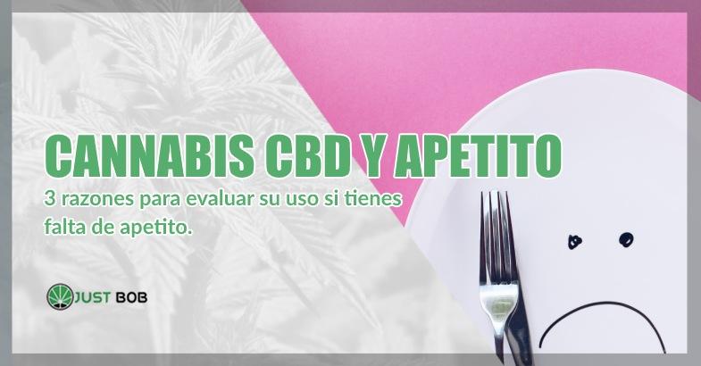 Cannabis CBD y apetito