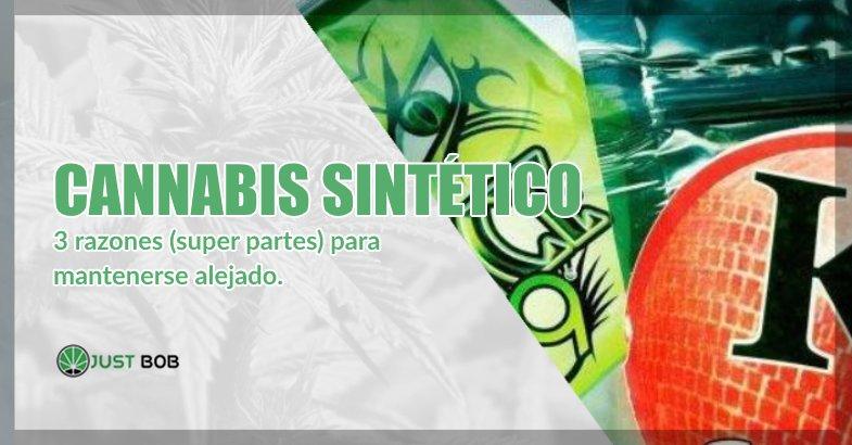 Cannabis sintético y marihuana cbd