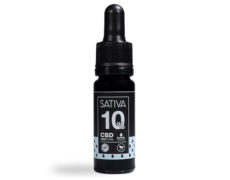 Botella de Aceite CBD de 10 ml al 10% - Sativa