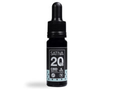 Botella de Aceite CBD de 10 ml al 20% - Sativa