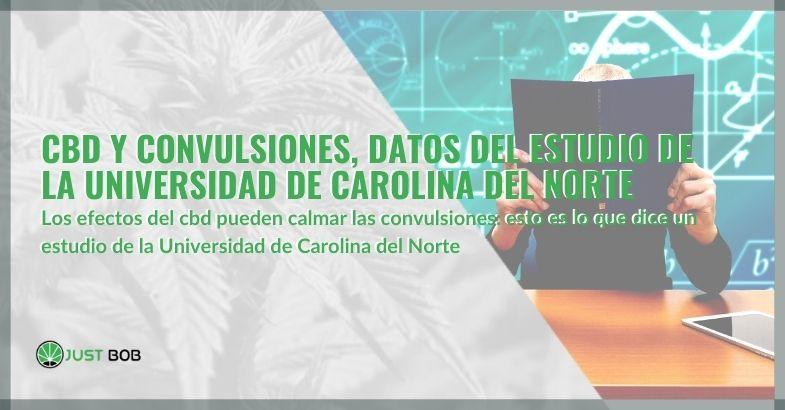 CBD y convulsiones, datos del estudio de la Universidad de Carolina del Norte