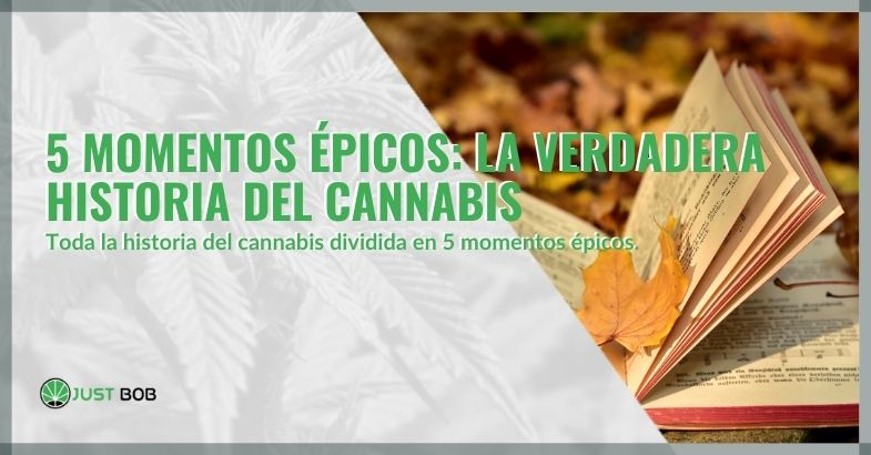 5 momentos épicos: la verdadera historia del cannabis