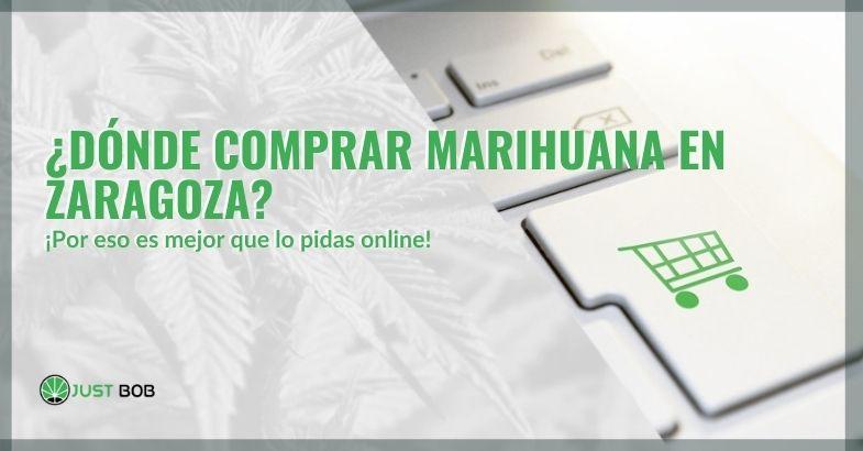 ¿Dónde comprar marihuana en Zaragoza? ¿Es mejor comprarlo online?