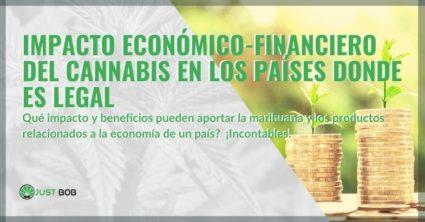Veamos qué beneficios económicos y financieros traería el cannabis.