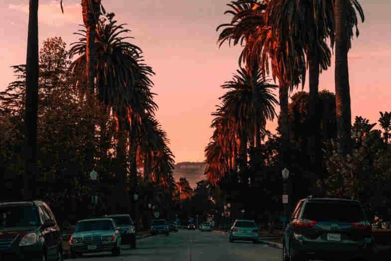 la marihuana en California
