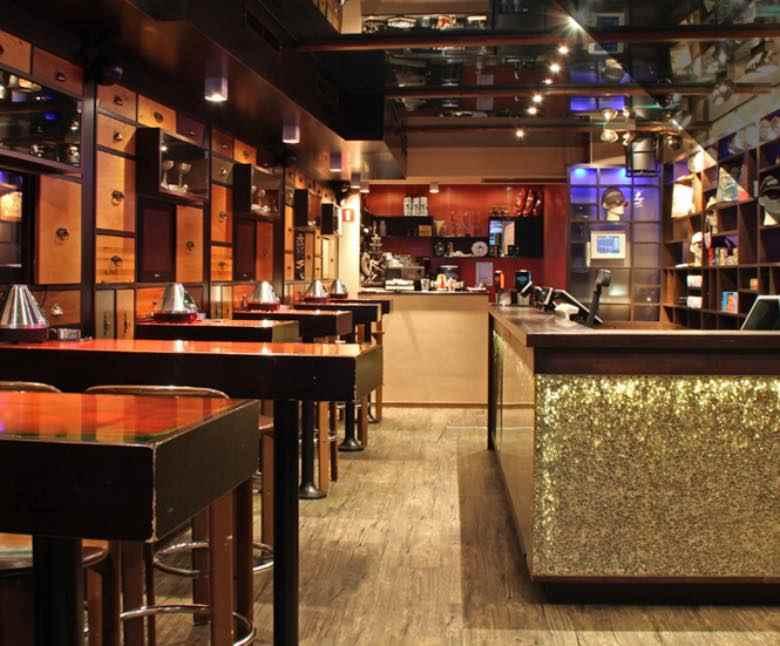 Barneys mejor cafetería en Amsterdam