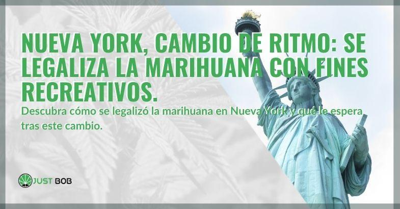 La marihuana en Nueva York se vuelve legal para fines recreativos