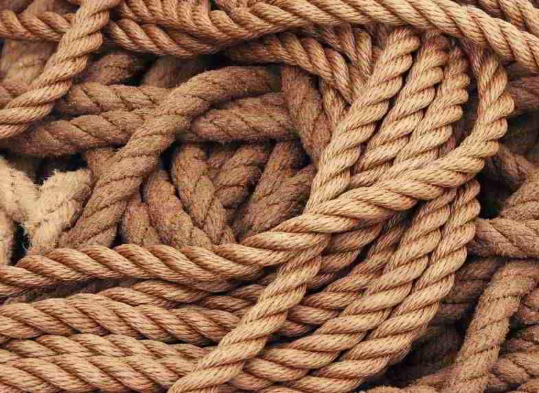 Cáñamo en el sector textil para fabricar cuerdas